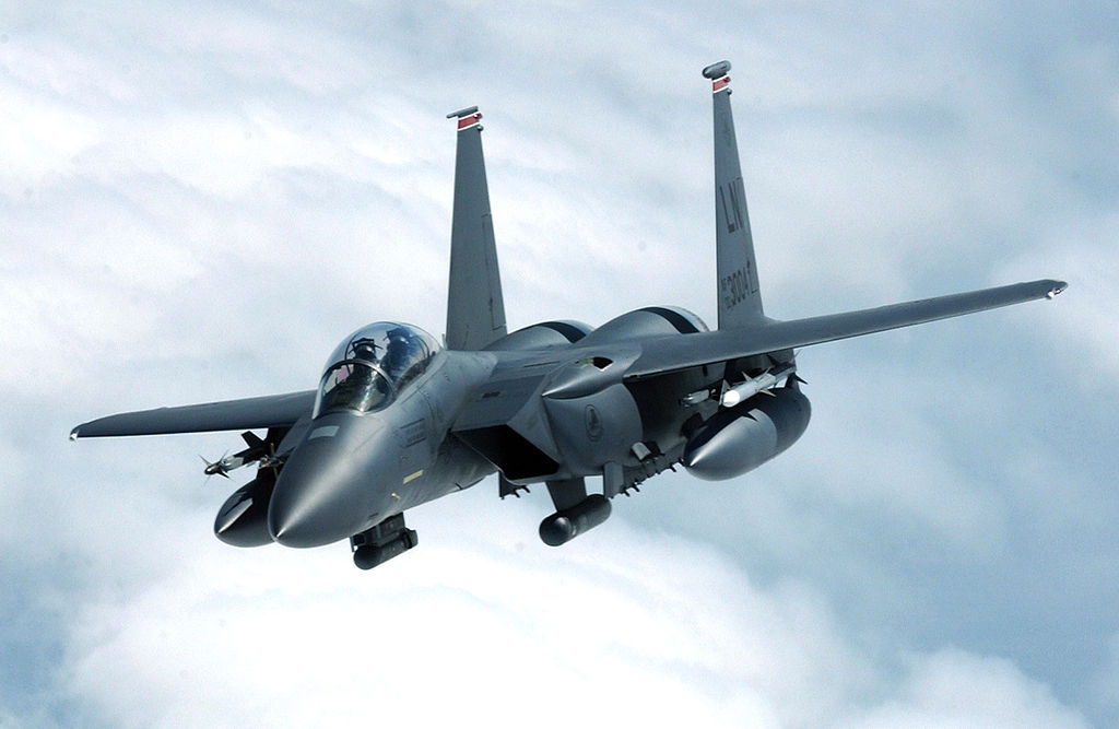 Boeing doubles F-15C missile load in '2040C' Eagle upgrade | Indian ...