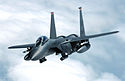 F-15E Strike Eagle banks away from a tanker.jpg