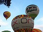 F-HCCS, F-GYTC & LX-BCH hot air balloons take-off at Metz, France.JPG