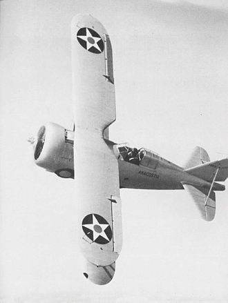 Grumman F3F - F3F-3 assigned to NAS Anacostia