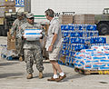 FEMA - 38340 - National Guardman carrying ice at a Texas food distribution centers.jpg