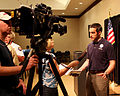 FEMA - 43983 - FEMA Representative answers questions form the media in Tennessee.jpg