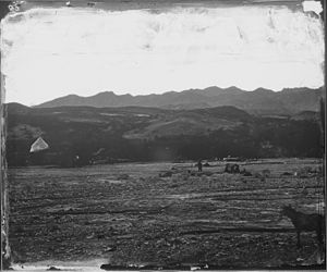 Furnace Creek, California - Furnace Creek in 1871