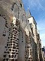 Façade est et clocher église Saint-Jean-Baptiste Saumeray Eure-et-Loir France.jpg
