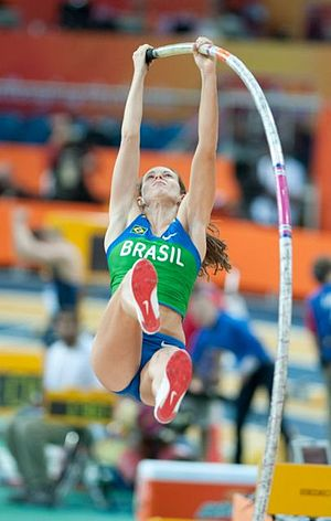 2006 South American Championships in Athletics - Fabiana Murer won her first continental pole vault title with a Championship record.