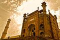 Facade, Entrance Chamber, Badshahi Masjid, Lahore..jpg