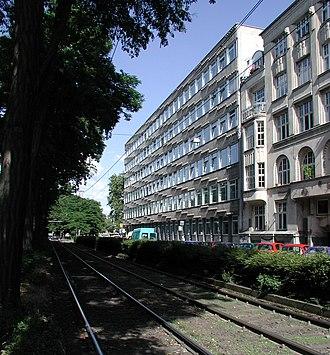 Köln International School of Design - Köln International School of Design on Ubierring
