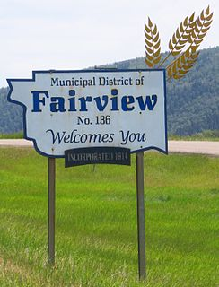 Municipal District of Fairview No. 136 Municipal district in Alberta, Canada