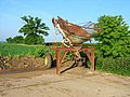 Farm machinery at Brandeston Hall - geograph.org.uk - 185428.jpg