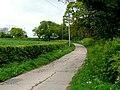 Farm road from Weaverwood Farm - geograph.org.uk - 1291230.jpg