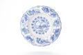 Fat av fajans med blå underglasyrmålning, från 1650-1700 - Skoklosters slott - 93331.tif