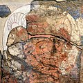 Fayaz Tepe, wall painting of Alexander the Great.jpg