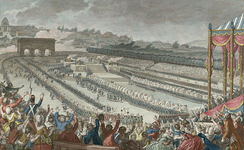 What significant things happened before the French Revolution?