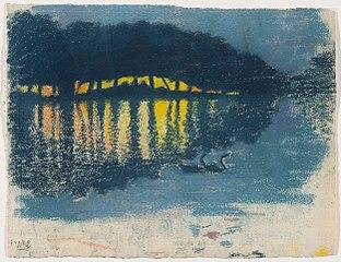 L'Étang la nuit