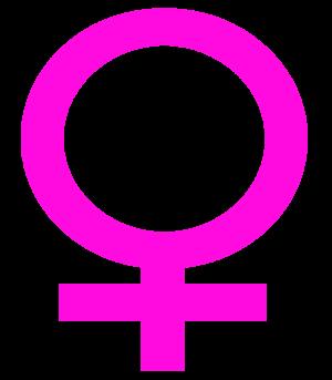 English: Female symbol