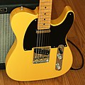 Fender Telecaster and Blues Junior Amp (2011-01-29 by irish10567) (cropped).jpg