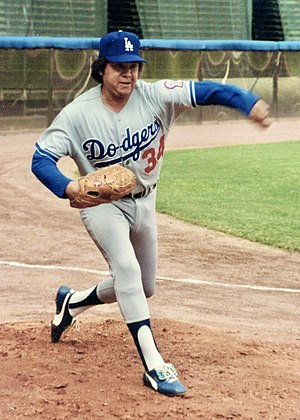 Fernando Valenzuela - Valenzuela with the Dodgers in 1981