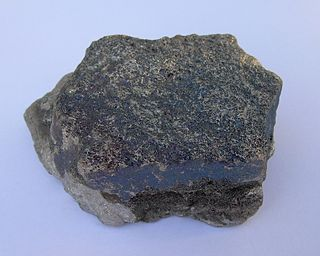 Ferrochrome alloy of chrome and iron, most commonly used in stainless steel production