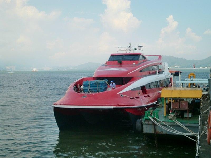 香港からマカオへのフェリー