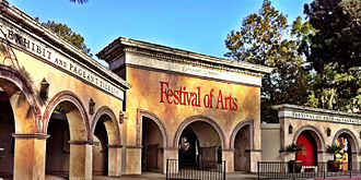 Laguna Beach, California - Entrance to the Festival of Arts and Pageant of the Masters
