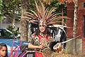 Fiestas Patrias Parade, South Park, Seattle, 2015 - 193 - 'Aztec' dancers (21598047161).jpg