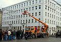 Filmmaking of 'Black Thursday' on crossway of ulica Świętojańska and Aleja Józefa Piłsudskiego in Gdynia - 018.jpg