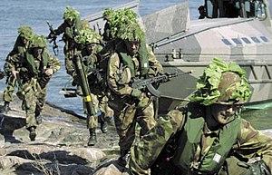 Finnish Coastal Jaegers -  Jaegers during training.