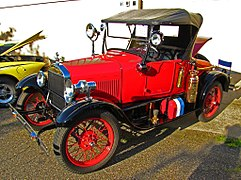 Fire Chief's Model T