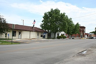 Fisher, Illinois - Downtown Fisher