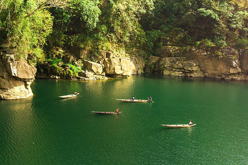 Dawki River in Shillong