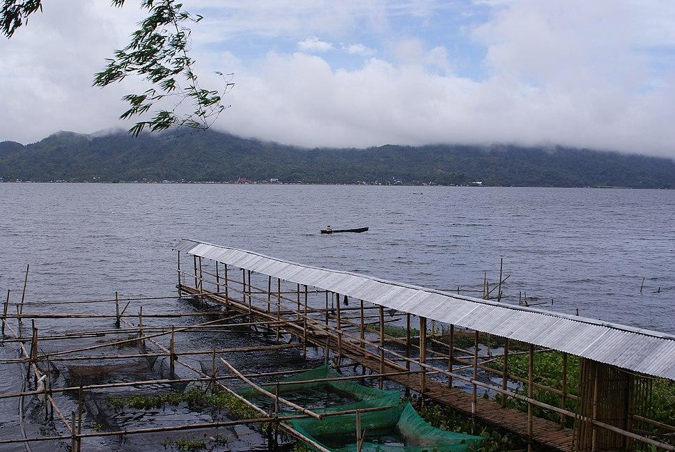 Fishery Lake Tondano