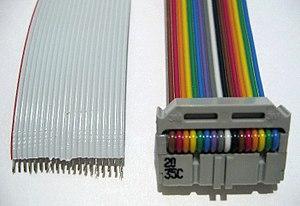 Ленточный кабель Википедия