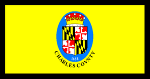 Charles County, Maryland - Image: Flag of Charles County, Maryland