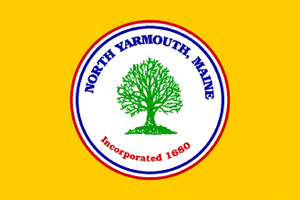 North Yarmouth, Maine - Image: Flag of North Yarmouth, Maine