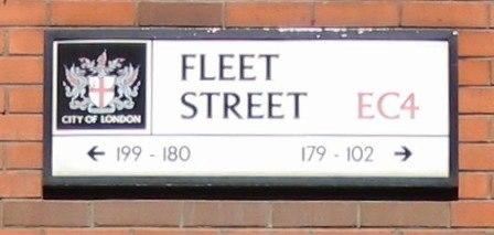 FleetStreetSign