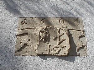 Flein - Image: Flein altesrathaus wappen 1604