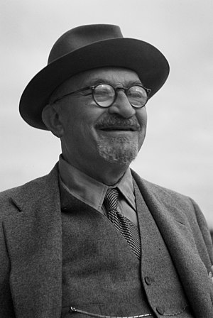 Chaim Weizmann - Image: Flickr Government Press Office (GPO) President Chaim Weizmann