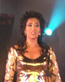 Description de l'image Flickr - Government Press Office (GPO) - SINGER OFRA HAZA AT THE JUBILEE CHIMES PERFORMANCE (cropped).jpg.