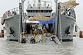 Flickr - Official U.S. Navy Imagery - Divers work from a U.S. Army vessel at the port of Umm Qasr during a joint effort between Iraqi divers and U.S. divers.jpg