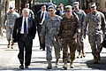 Flickr - The U.S. Army - Secretary of Defense Robert M. Gates at Camp Eggers in Kabul, Afghanistan.jpg