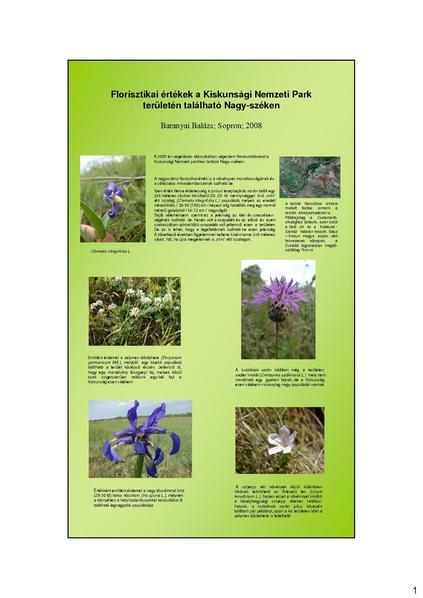 File:Florisztikai értékek a Kiskunsági Nemzeti Park területén található Nagy-széken.pdf