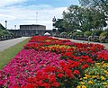 Flower beds leading to Southsea Castle and lighthouse. - geograph.org.uk - 854043.jpg