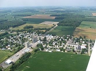 Jenera, Ohio - Aerial view of Jenera