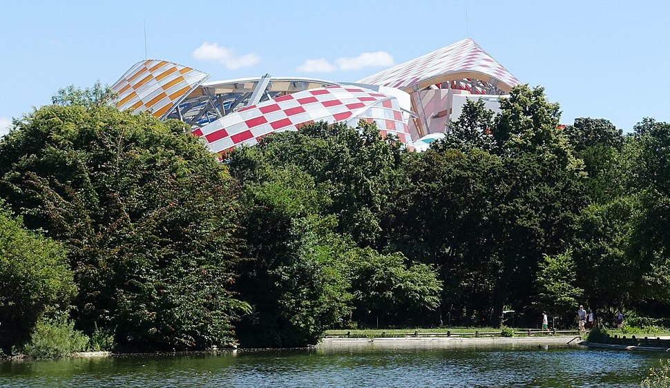Fondation Louis Vuitton roof @ Mare Saint-James @ Bois de Boulogne @ Paris (28303477171)
