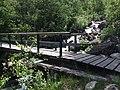 Foot bridge to Cascade du Dard Restaurant - panoramio.jpg