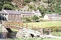 Footbridge at Betws Garmon - geograph.org.uk - 633781.jpg