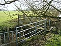Footbridge over feeder stream - geograph.org.uk - 328569.jpg