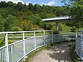 Footbridge over the Dronfield Bypass A61 - geograph.org.uk - 1300063.jpg