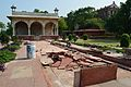 Footpath Renovation Near Sawan Pavilion - Hayat-Bakhsh-Bag - Red Fort - Delhi 2014-05-13 3330.JPG