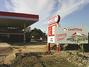 Conoco - Former Conoco station in Colorado.